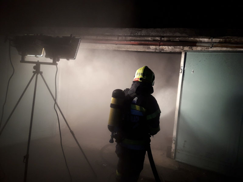 Kapfenberg Diemlach Brandeinsatz In Der Silvesternacht Feuerwehr